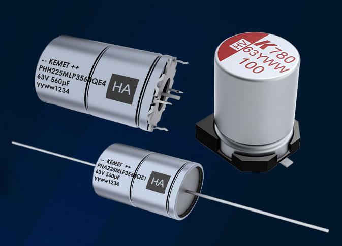 Гибридные алюминиевые полимерные конденсаторы Kemet
