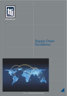 TTI Supply Chain Excellence Brochure