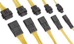 Герметичные проводные соединители Molex Squba