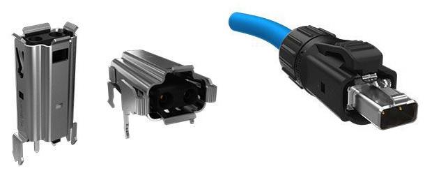 IP20 разъемы для однопарного Ethernet MSPE серии от Amphenol ICC